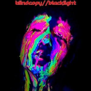 """Blindcopy, """"Blacklight"""" cover graphic"""